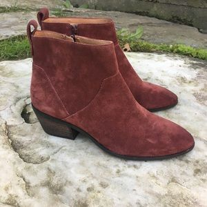 Sole Society Suede Booties - New